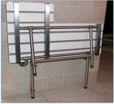 ada compliant folding shower transfer bench sh 400 2sdr access