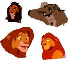 lion king characters mspaint tangerineandpuce deviantart