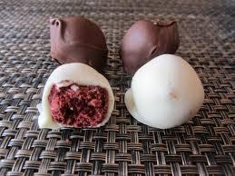 red velvet cake batter truffles lisa u0027s dinnertime dish