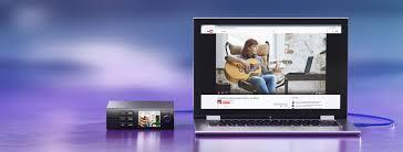 Live Bedroom Cam Blackmagic Web Presenter Livestream To The Web From Any Camera