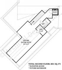 in law suite floor plans mayberry place retirement house plan in law suite