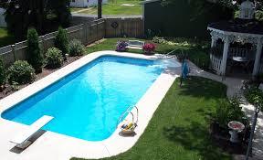 swimming pool sizes rectangle inground pool kits royal swimming pools