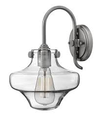 Wall Lighting Sconces Hinkley Lighting 3171 Congress 9 Inch Wide Wall Sconce Capitol
