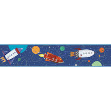 Rocket Ship Curtains by Rocket Ship Wallpaper U0026 Border Wallpaper Inc Com