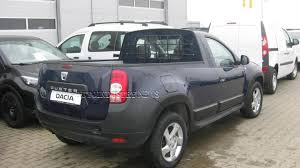 dacia duster transformed into a pick up by a romanian coachbuilder