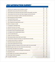 Resume Questionnaire Template Sample Employee Satisfaction Survey Best Sample Training Survey