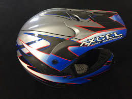 motocross helmet painting custom painted helmets and body work from rippin designs