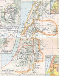 Map Of Bc Map Of Ancient Palestine