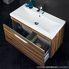 B Q Modular Bathroom Furniture by Walnut Vanity Units For Bathroom Bathroom Decoration