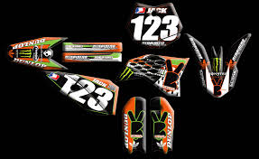 graphics for motocross bikes ktm full kits nineonenine designs