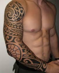 tribal arm tattoos arm sleeve tribal designs
