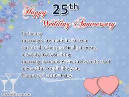 10 year anniversary card message 25th wedding anniversary wishes messages and wordings wordings