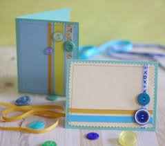 how to make button embellished cards craftstylish