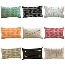 retro arrows print pillow case sofa throw cushion cover pillowcase