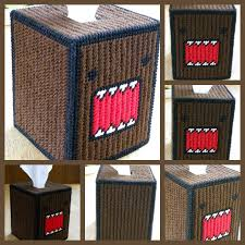 domo plastic canvas tissue box cover by bedtymegal on deviantart