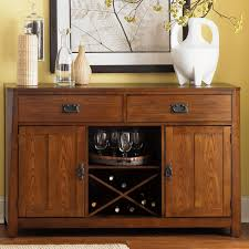 server with built in wine rack by liberty furniture wolf and