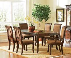 Dining Room Set Clearance Chair Scenic Coaster Brooks Oak Finish Roundoval Dining Table With