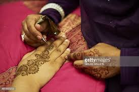 muslim tattoos stock photos and pictures getty images