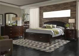 avalon bedroom set avalon dark truffle storage panel bedroom set bedroom sets bedroom