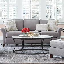 La Z Boy Living Room by La Z Boy Phoebe Transitional Flared Arm Sofa Great American Home