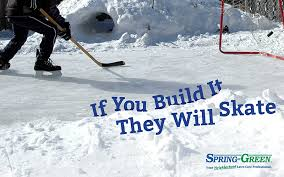 Build A Backyard Ice Rink Build A Backyard Rink Without Lawn Damage Winter Lawn Care Tips