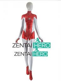 Mary Jane Halloween Costume 3d Printed Mary Jane Spider Costume Mj Spider Man Zentai Bo