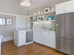 Soft White Kitchen Cabinets Gray Raised Panel Kitchen Cabinets Design Ideas