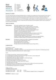 Medical Assistant Resume Skills Impressive Decoration Examples Of Resumes For Medical Assistants