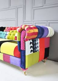 sofa patchwork this is amazing colorful chesterfield patchwork sofa by