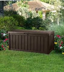 Garden Storage Containers Plastic Garden Bench And Seat Pads Keter Outdoor Bench Large Outdoor