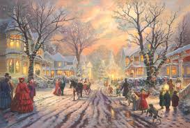 kinkade prints and canvases