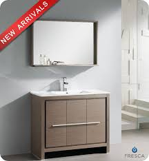 40 u201d fresca allier fvn8140go modern bathroom vanity u2013 grey oak