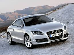 audi auto car of the moment a blue grey audi tt i this car so much