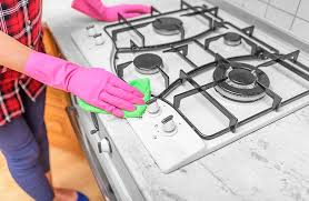 how to remove grease from the top of kitchen cabinets how to get cooked on grease the stove top 7 effective tips