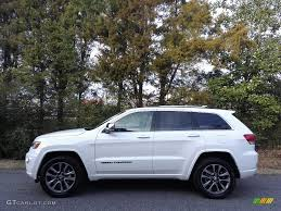 white jeep grand cherokee 2017 bright white jeep grand cherokee overland 4x4 117773250