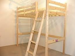 SHORT Length Loft Bunk Bed Cm By Cm Wooden High Sleeper - Short length bunk beds