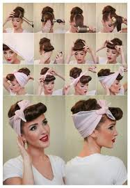 Frisuren Selber Machen Haarband by 1001 Inspirierende Ideen Für Coole Bandana Frisuren
