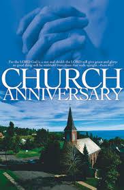 church anniversary invitation card templates custom invitations