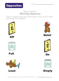 preschool opposites worksheets free worksheets library download