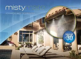 amazon com mistymate 16030 cool patio 30 outdoor misting kit