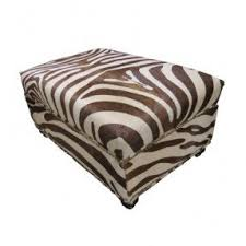 Ottoman Design Animal Print Ottomans Foter