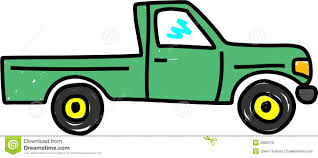 Old Ford Truck Vector - cartoon pickup truck clipart 32
