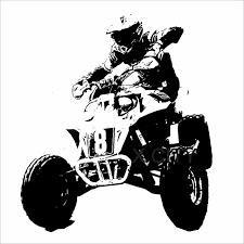 sport en chambre x rider roues cool sport extrême enfants boy chambre sticker