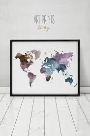 World Map Wall Poster by Best 25 Grande Carte Du Monde Ideas On Pinterest Carte Murale