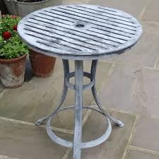 Garden Bistro Table Buy Verdigris Bistro Table Burford Garden Company