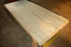 maple butcher block table top maple full lamellas worktops jieke wood