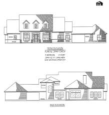 3 Bedroom 2 Bathroom House Plans Plan No 2945 0905