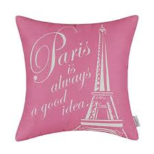 Paris Home Decor Accessories Euphoria Home Decor Cushion Covers Pillows Shell Cotton Linen