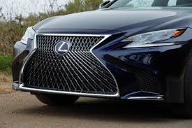 lexus ls hybrid 2018 price 2018 lexus ls 500 our review cars com