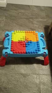my first mega bloks table boys toy bundle mega bloks first builder bricks table and pull